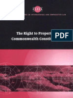 Allen - The right to property in Commonwealth constitutions