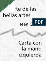 Galard Jean - Muerte de Las Bellas Artes