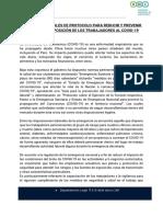 3- SNI - Aspectos Generales Protocolo Covid19
