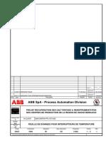 F.D pour intérrupteurs de température GLA Rev1