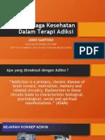 Peran Tenaga Kesehatan Dalam Terapi Adiksi (1)