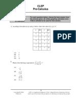 CLEPPre_Calculus