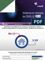 Informe de Violencia en Tiempos de Covid-19