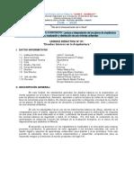 Primera Unidad Didactica - albañileria