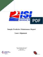 Sample Laser Alignment Report