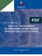 Guía Clínica GES Esquizofrenia