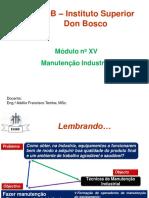 2. MODELOS DE MANUTENÇÃO