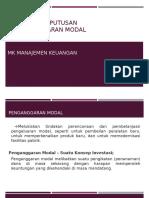 10 Capital Budgeting dan Kriteria Keputusan Penganggaran