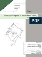Investigación Registral Finca Medio Monte (Derecho Agrario Ambiental) 1.pdf