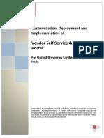Vendor Portal Solution