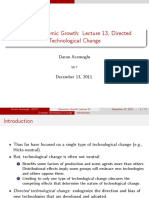 Lecture 13 - Directed Technological Change