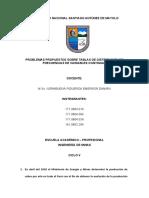 EJEMPLOS (TABLA DE FRECUENCIA) - GRUPO N°3