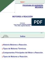 Sesión 1 - Motores a Reacción