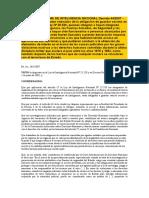290107 SISTEMA DE INTELIGENCIA NACIONAL Decreto 442007