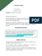 SOLUCION DEL CASO TERMINACION DEL CONTRATO