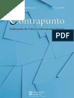 Revista Contrapunto de Crítica e información Literaria (Universidad de Alcalá). Número 40