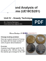 4. DAA - Unit IV - Greedy Technique - Lecture Slides.pdf