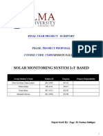 FYP Project proposal Report Solar System (Last) 18-12-2018 (1)