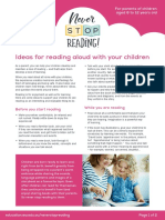 Ideas for reading alund with your children