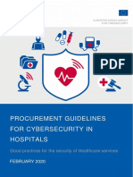 Procurement Guidelines for Cybersecurity in Hospitals