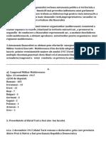 Istoria-Miscarea Nationala in Basarabia  si Transnistria in 1917-Cl 8