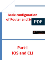 2.2 Basic Configuration of Router or Switch