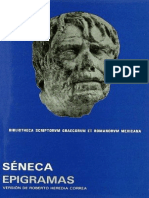 Séneca, Lucio Anneo - Epigrammata • Epigramas