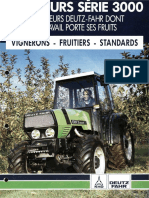 Deutz Fahr series 3000 leaflet