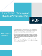 How To Gain Planning and Building Permission In UK