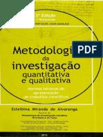 Livro - Metodologia Da Investigao 1