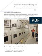 Civil Engineering in Installation of Substation Buildings and Switchboard Rooms