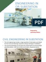 Civil Engineering in Indoor Substation