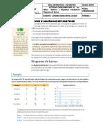 Gráficos o diagramas estadísticos- Diagrama de barras