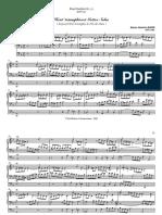 Bach - Heut triumphieret Gottes Sohn BWV 630