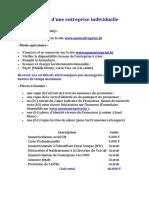Création d'Entreprise  et Société au Bénin