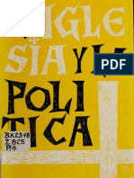AA.VV., La Iglesia y la politica, Paulinas, Santiago de Chile, (1966)