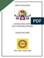 Libro de Oraciones Sangha Devachen 22nov19