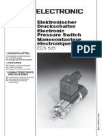 HYDAC - Electronics -- EDS 505