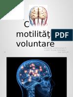 Calea motilităţii voluntare.pptx