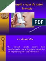 criza astmatica