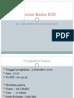 Laporan Kasus IGD Ricko.pptx