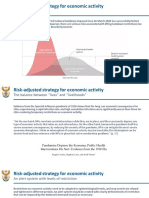 Risk-adjusted strategy for economic activity