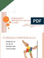 Portofoliu Managementul clasei-Tanase Stefania