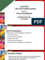 Tajuk 2 Proses Pembelajaran - KESEDIAAN BELAJAR
