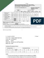 Scheme - e Fourth Semester _co, Cm, CD