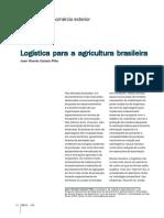LOGÍSTICA PARA AGRICULTURA BRASILEIRA