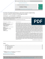 A review of catalyst performance and novel reaction engineering.pdf