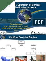 Seleccion y Operacion de Bombas para la Industria Petrolera