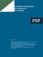 Roseli Figaro - O Mundo do Trabalho e as Organizações