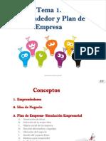 1.Emprendedor y el Plan de Empresa - IES F Wirtz